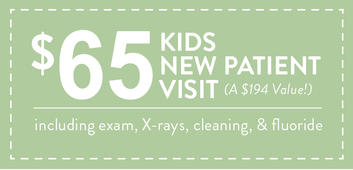 $50 Kids New Patient Visit