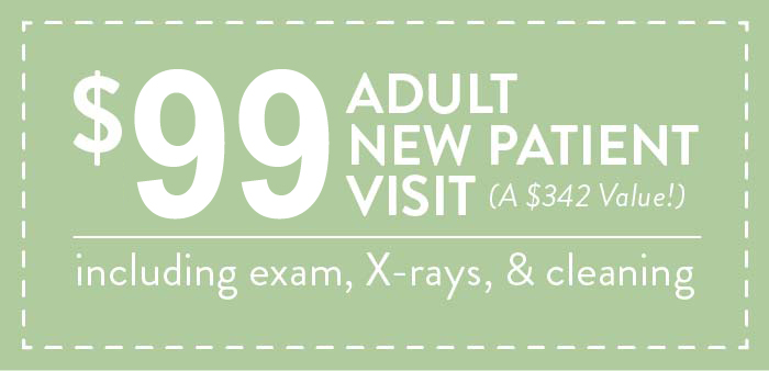 $88 Adult New Patient Visit